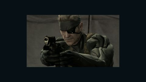 """""""Metal Gear"""" protagonist Solid Snake will be replaced in the new game by a swordsman named Raiden."""