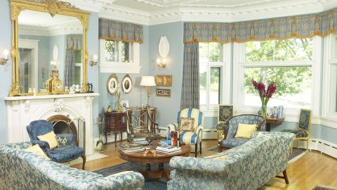 Painting accents in your house can embellish an existing scheme with fresh colors.