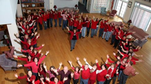 Friday, February 3 is National Wear Red Day, a part of the American Heart Association's Go Red for Women movement to raise awareness about women's heart health.
