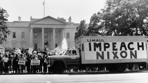 The  Watergate scandal of the 1970s caused many Americans to lose faith in government.