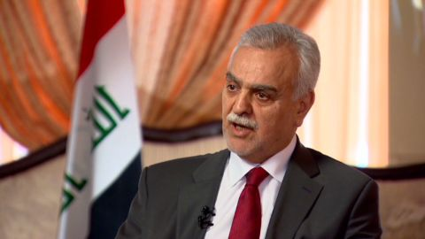 intv pleitgen iraq hashemi predicts return to sectarian violence_00003303