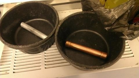 These are the devices which prompted a bomb scare at LaGuardia Airport on Monday.