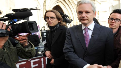WikiLeaks founder Julian Assange leaves the High Court in London on December 5 in his fight against extradition.