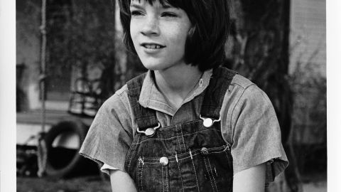 """Mary Badham as Jean Louise """"Scout"""" Finch."""