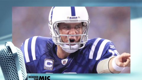 FIle photo of Peyton Manning, Indianapolis Colts QB