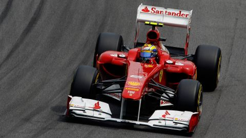 The launch of Ferrari's car for the 2012 Formula One season had to be halted due to heavy snow in Italy.