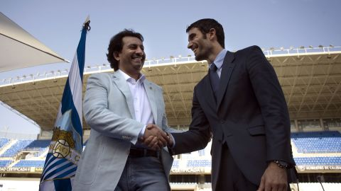 Sheikh Abdullah Bin Nassar Al-Thani (left), a member of the Qatari royal family, bought Spanish club Malaga for €36 million ($48 million) in June 2010. The investment brought with it a place in the 2012-13 UEFA Champions League, where Malaga reached the quarterfinals, but since then top players have been sold to reduce the debts which incurred a ban under financial fair play rules.