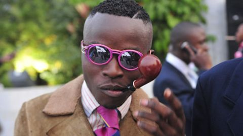The Sapeurs are a Congolese sub-culture of dapper dressers.