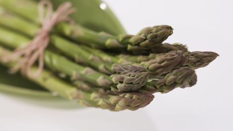 """Asparagus is one of the best veggie sources of folate, a B vitamin that could help keep you out of a mental slump. """"Folate is important for the synthesis of the neurotransmitters dopamine, serotonin and norepinephrine,"""" said David Mischoulon, associate professor of psychiatry at Harvard Medical School. All of these are crucial for mood."""