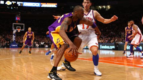 At one point, LIn outplayed Los Angeles Lakers star Kobe Bryant in the New York Knicks' 92-85 win. The win extended the Knicks' historic 2012 winning streak.
