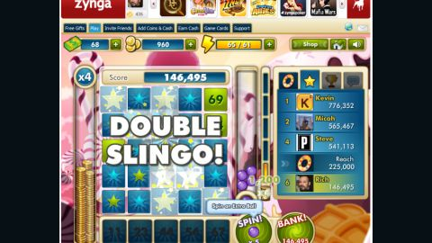 """The makers of Zynga Slingo vow to deliver an exciting social-gaming experience for """"Slingo"""" fans."""
