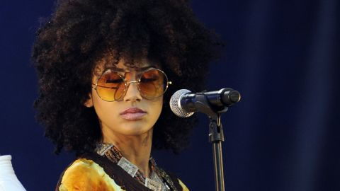"""Andy Allo is a Cameroonian singer and guitarist who's now based in the United States. She has performed with Prince and produces what she describes as """"alter-hip-soul."""""""