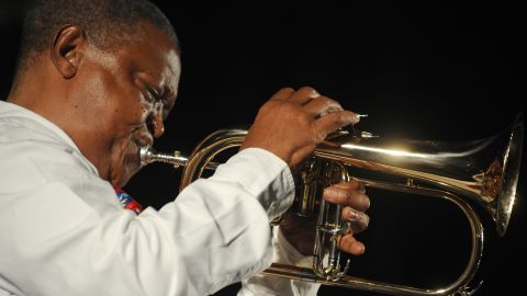 """Now 72 years old, South African musician Hugh Masekela proves you don't have to be young to be an Afropolitan. """"Hugh Masekela is definitely Afropolitan,"""" says Brendah Nyakudya, editor of Afropolitan magazine. """"He has traveled the world but has come back and lives in Soweto with his people."""""""