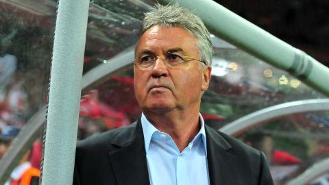 Veteran Dutch coach Guus Hiddink is back in club football with Russian club Anzhi Makhachkala