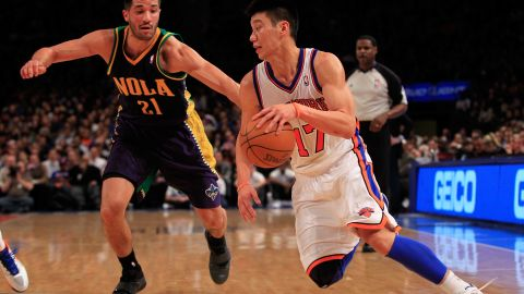 The Knicks vs. the Hornets in New York City on Friday.