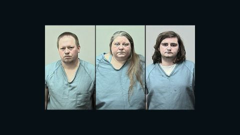 Wisconsin authorities have jailed the father, stepmother and stepbrother of a 15-year-old girl.
