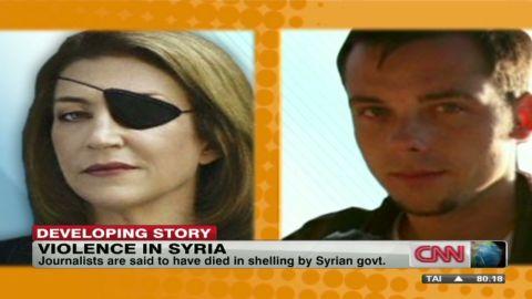 damon syria journalist killed_00014704