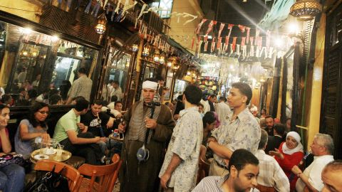 In the bars and cafes dotting downtown Cairo streets, activists and writers gather to discuss the political issues of the day.