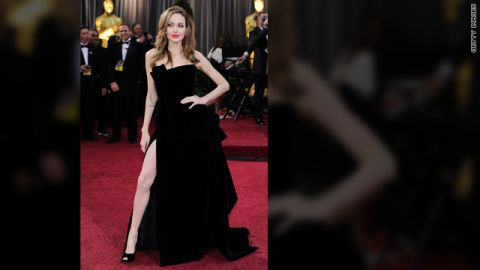 """Thigh-high slits have always had a place at awards shows, but Angelina Jolie single-handedly revolutionized the style at the <a href=""""http://marquee.blogs.cnn.com/2012/02/27/angelina-jolies-right-leg-steals-the-show/"""" target=""""_blank"""">2012 Oscars</a>. Her leggy pose proved that a great stem -- that's right, just one -- is the only accessory you need to rock the red carpet. And these 2013 Golden Globe attendees took note:"""