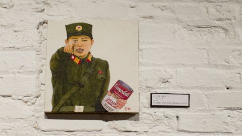 """In some ways, it's not a far jump from propaganda to pop art. In """"Let Me Taste It,"""" Song pays tribute to Andy Warhol, freedom of expression and the difficulties of life in North Korea."""