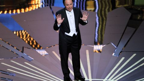 """If life had gone differently for Billy Crystal, he might have remained a substitute teacher in Long Island, New York -- the gig he held while trying to land work as a stand-up comic. But then came a 1975 appearance on """"The Tonight Show with Johnny Carson,"""" a landmark role on fan-favorite series """"Soap,"""" a year on """"Saturday Night Live,"""" a string of hit comedy films from """"The Princess Bride"""" to """"When Harry Met Sally,"""" and more successful hosting gigs than one could count."""