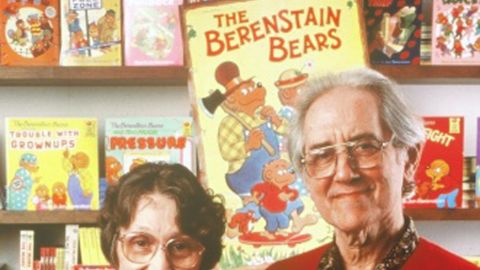 """Jan Berenstain authored and illustrated """"The Berenstain Bears"""" books with her husband, Stan."""