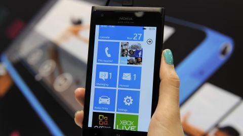 Nokia's Lumia 900 mobile phone