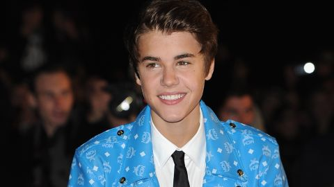 Justin Bieber, shown here at the NRJ Music Awards 2012 in Cannes, France.