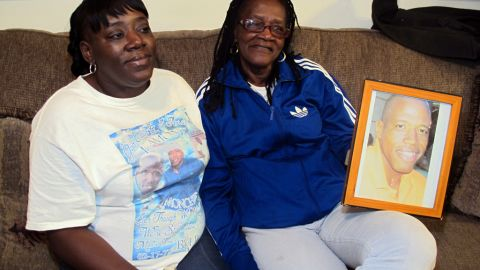 Althea Phillips and her daughter, Yvonne, talk about the death of Althea's fourth son, Lamont.