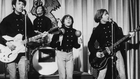 """The  band performs in 1967. In terms of musical popularity, the project succeeded beyond anyone's expectations, with the group notching a handful of No. 1 songs (including """"I'm a Believer,"""" Billboard's top song of 1967) and four No. 1 albums."""