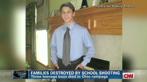Daniel Parmertor, one of the three teens killed in an Ohio school shooting, will be laid to rest on Saturday.