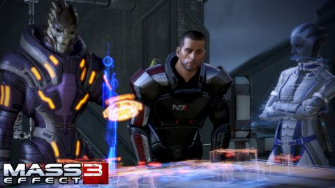 """The creation of """"Mass Effect 3"""" pushed a team of developers to the limit, says Casey Hudson, executive producer of the series."""