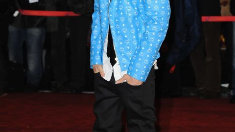 """The Biebs attends the NRJ Music Awards in January 2012, but he stays busy giving back when he's not hitting the red carpet. A month later<a href=""""http://marquee.blogs.cnn.com/2012/02/15/justin-bieber-gives-child-battling-cancer-dream-date/"""">, he made a special Valentine's Day trip</a> to a girl suffering from cancer. Photos he shared from their time together quickly went viral."""