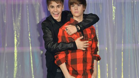 Madame Tussauds had everyone seeing double when Bieber's wax figure was unveiled in March 2011 in London.