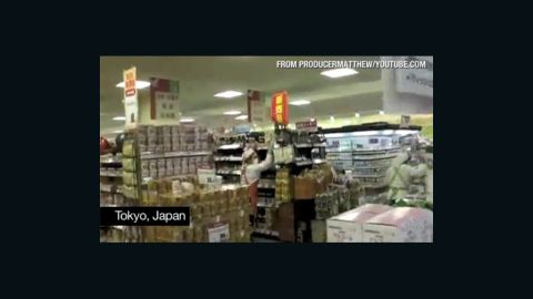 Video captured the moment the 8.9-magnitude earthquake hit Japan.