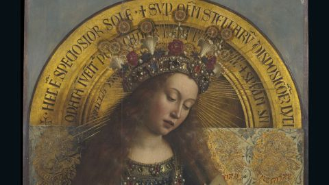 Consisting of 12 panels and depicting numerous complex theological scenes, the documentation project has rendered the work into 100 billion pixels using the highest resolution photography.
