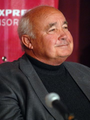 """Ervin Zador attending a press conference in 2006 for the documentary """"Freedom's Fury,"""" which tells the story of Hungary's sporting and politcal match against the Soviets in 1956."""