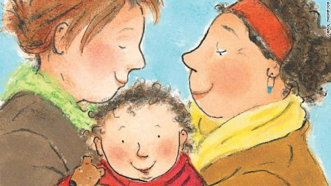 Children's books now include a diversity of families that reflection today's world.
