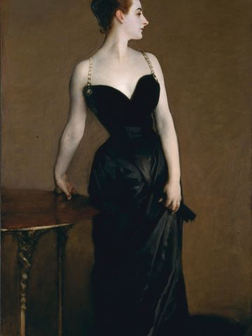 """Later works in the collection include John Singer Sargent's masterwork, """"Madame Pierre Gautreau."""""""