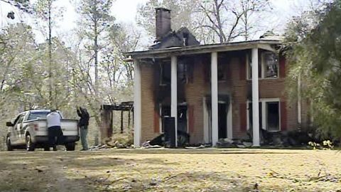 Tinderbox conditions in an old home led to an intense fire that killed a U.S. soldier and his two daughters, officials say.