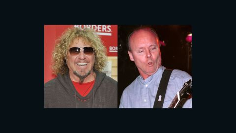 """""""It's a shame to lose Ronnie and I'm so sorry for his loved ones,"""" Sammy Hagar said about Ronnie Montrose."""