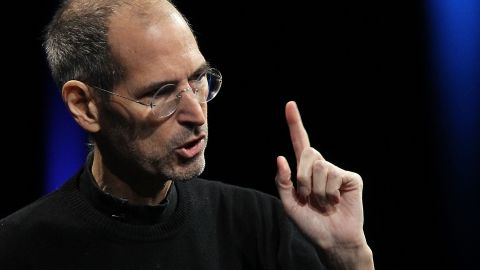 """Steve Jobs, seen in 2011, gave the commencement address at Stanford in 2005. Some memorable remarks: """"Our time is limited, so don't waste it living someone else's life.  Don't be trapped by dogma — which is living with the results of other people's thinking.  Don't let the noise of others' opinions drown out your own inner voice.  And most important, have the courage to follow your heart and intuition.  They somehow already know what you truly want to become.  Everything else is secondary."""" He also said, """"Stay hungry. Stay foolish."""""""