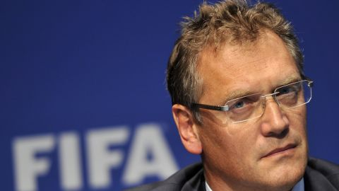 Lost in translation: FIFA general secretary Jerome Valcke has issued an apology to Brazil saying his words have been misrepresented