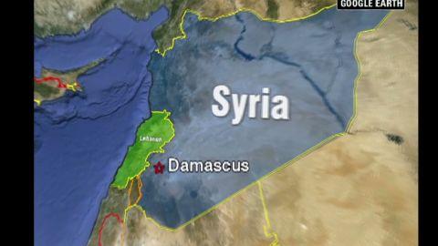 lkl syrian govt targets bridge to lebanon_00000803