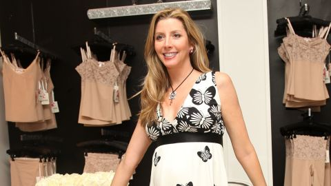Sara Blakely attends the launch of Haute Contour by SPANX at Saks Fifth Avenue on March 26, 2009 in New York.