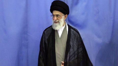 (file photo) Ayatollah Ali Khamenei has criticized Barack Obama's threat to impose more sanctions on Iran.