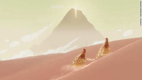 """A scene from """"Journey."""""""