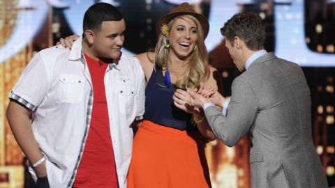 """""""American Idol's"""" Jeremy Rosado and Elise Testone find out who will be eliminated from the competition."""