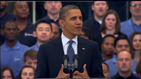"""""""Think of this as a place where companies can share access to cutting edge capabilities,"""" President Obama says."""