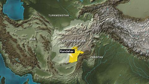 Map: Afghanistan